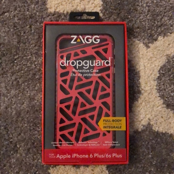best website 7e8b7 2b595 Zagg Dropguard Protect iPhone Case for Plus NWT